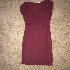 PAC sun maroon dress never worn
